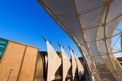 Kuwait and Germany Pavilion - Expo Milano 2015 Stock Photography