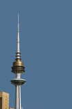 Kuwait liberation tower Royalty Free Stock Image