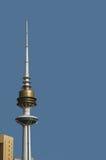 Kuwait liberation tower. View of Kuwait Liberation Tower from Kuwait City Royalty Free Stock Image
