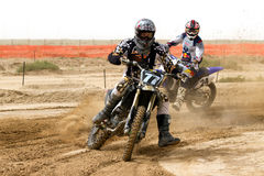 Kuwait motorcross race Stock Photos