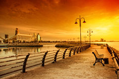 Kuwait national assembly Royalty Free Stock Photos