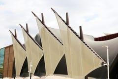 Kuwait seglar Arkivbilder