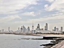 Kuwait sikt Royaltyfri Fotografi