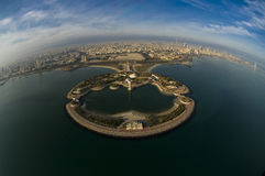 Kuwait from the Sky. Kuwait city from the sky Royalty Free Stock Image