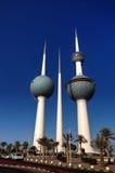 Kuwait torn, vattenbehållare Arkivfoto