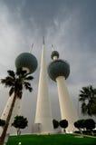 Kuwait towers Stock Image