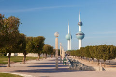 The Kuwait Towers Royalty Free Stock Photo