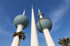 The Kuwait Towers Stock Image