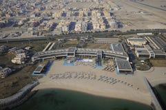 Kuwait vom Himmel Stockbilder