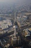Kuwait vom Himmel Stockfotografie