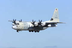 Kuwaiti C-130J Hercules Royalty Free Stock Photo