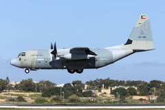 Kuwaiti C-130J Hercules Stock Photos