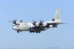 Kuwaitier C-130J Hercules Royaltyfri Foto