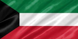 Kuwejt flaga ilustracji
