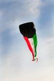 Kuwejt flaga kania Zdjęcie Stock