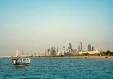 Kuwejt Marina drapacz chmur zdjęcia stock