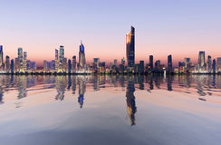 Kuwejt pejzaż miejski Fotografia Stock