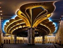 Kuwejt Uroczysty Meczetowy wnętrze, miasto, Kuwejt Obrazy Stock