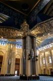 Kuwejt Uroczysty Meczetowy wnętrze, miasto, Kuwejt Zdjęcia Stock