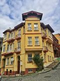 Kuzguncuk. Istanbul street royalty free stock photo