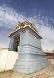 Kuzhanthai Velappar在村庄Poombarai的寺庙建筑学,  免版税库存图片