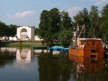 kuzminki rezydencja ziemska Moscow Zdjęcia Royalty Free