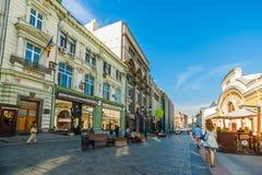Kuznetsky Najwięcej st Moldova ambasady budynku Zdjęcie Stock