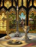 kvällsmål för lord s royaltyfri illustrationer