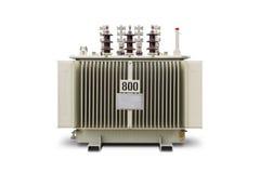 800-KVA-ölgeschützter Transformator Stockbild