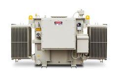 1500 kVA N2气体密封了幅射器飞翅类型变压器 免版税库存图片