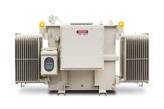 1500 kVA N2气体密封了幅射器飞翅类型变压器 免版税图库摄影