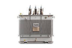 500 kVA N2 gas sealed transformer Stock Photography