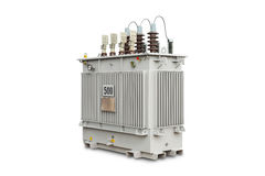 500 kVA N2 gas sealed transformer Stock Images