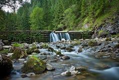 Kvacany valley, Mlyny - Oblazy, Slovakia. Stock Photo