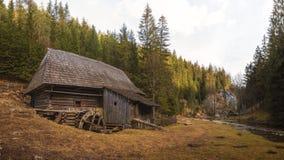 Kvacianska Dolina,斯洛伐克 免版税库存图片