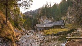 Kvacianska Dolina, Slowakije Stock Foto's