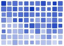Kvadrera blått belägger med tegel Royaltyfri Foto
