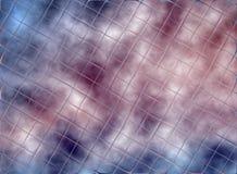 Kvadrerad effektbakgrund Royaltyfria Bilder
