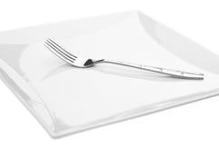kvadrerad gaffelplatta Fotografering för Bildbyråer