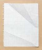 Kvadrerat papper Arkivbilder