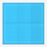Kvadrerat papper för att skissa Arkivbild