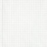 Kvadrerat papper för grafraster anteckningsbok med kopieringsutrymme Fotografering för Bildbyråer