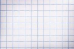 Kvadrerat pappers- Arkivfoton