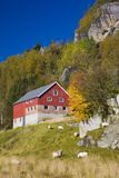 Kvaevemoen, Norway. Landscape near Kvaevemoen in Norway Royalty Free Stock Image