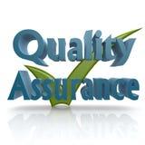 Kvalitets- försäkring för fästing Fotografering för Bildbyråer