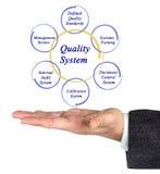 Kvalitets- system Arkivbilder
