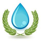 Kvalitets- vatten Arkivbild