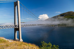 Kvalsund bridge Stock Images