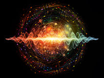 Kvantvåg Fotografering för Bildbyråer