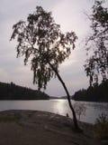 kvarnsjon湖x 库存图片